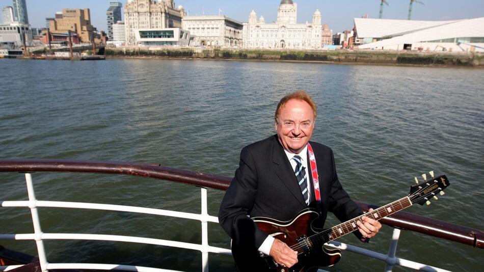 Sänger Gerry Marsden gestorben