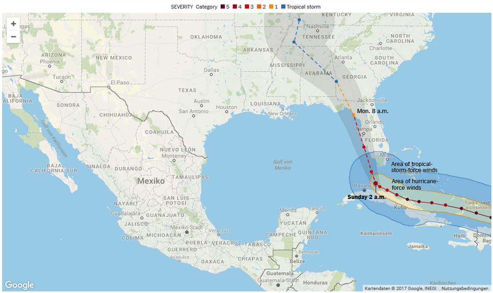 Hurrika, Irma, Hurrikan Irma, Florida