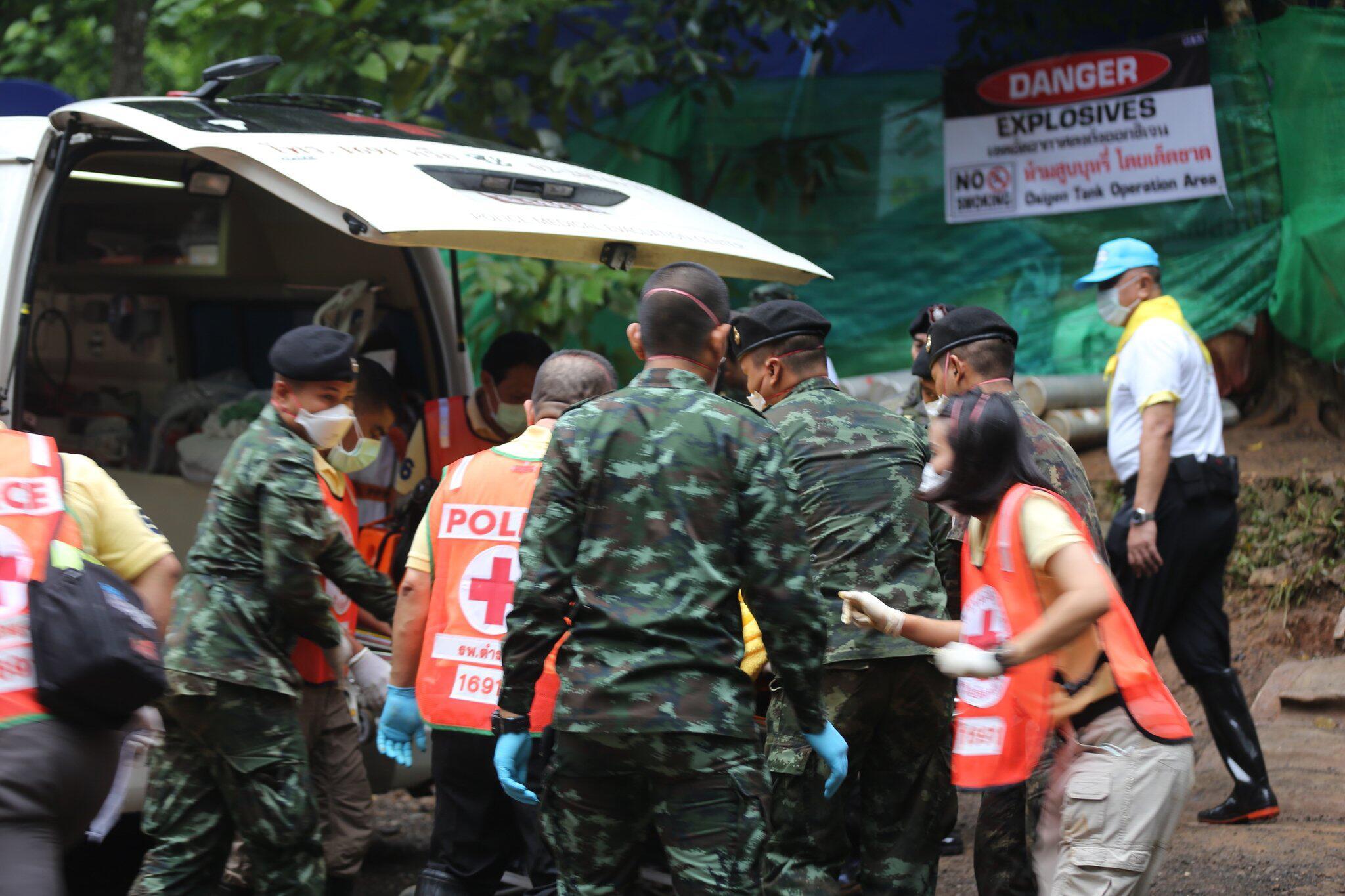 Bild zu Thailand Höhlenrettung