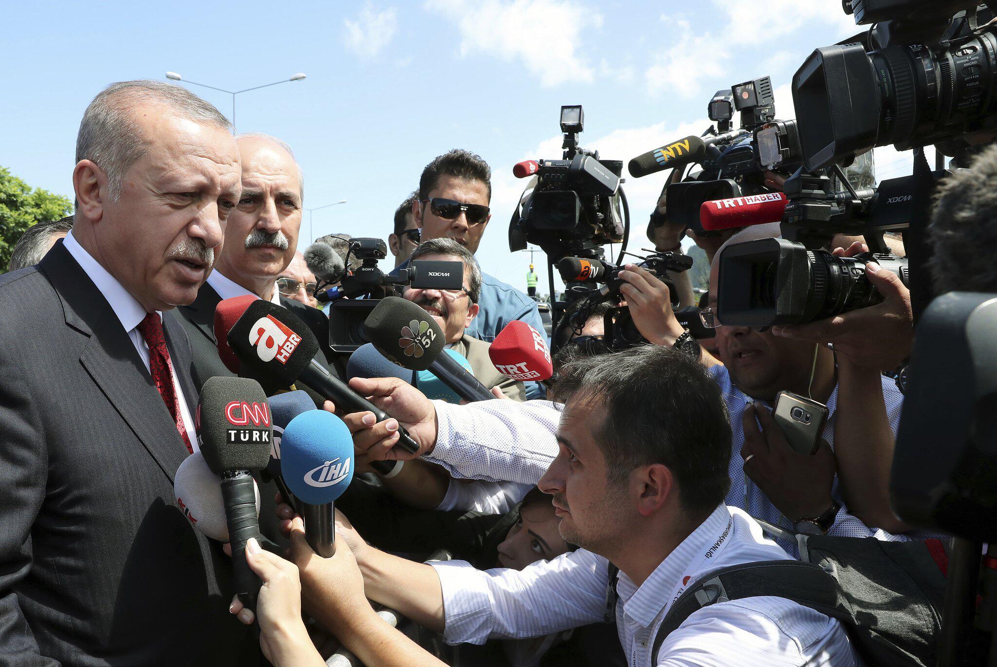 Bild zu Erdogan spricht in Ordu