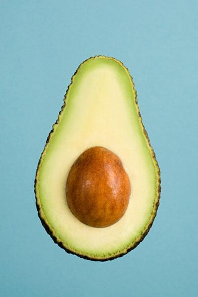 Bild zu Avokadohälfte