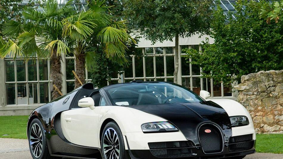 Sondermodell des Bugatti Veyron Grand Sport Vitesse