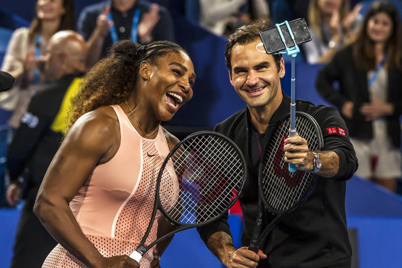 Bild zu Serena Williams, Roger Federer, Hopman Cup