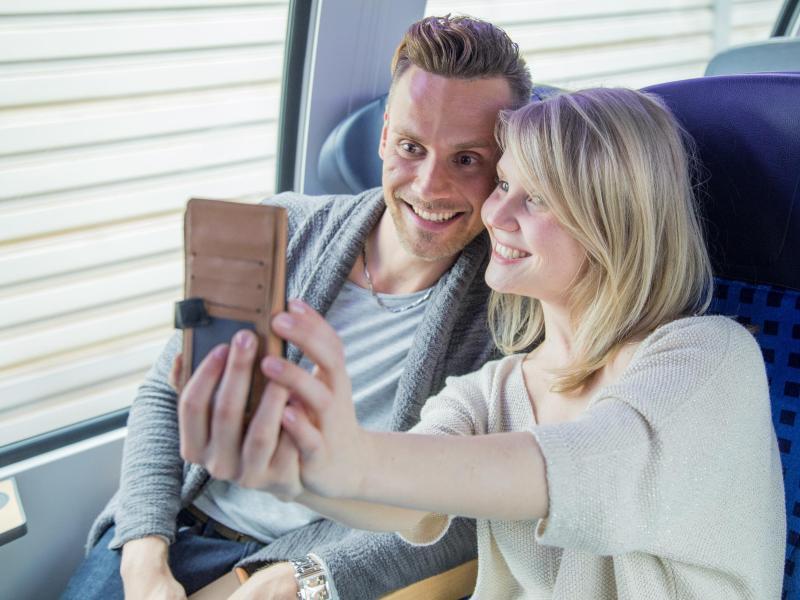 Bild zu Selfie auf Reisen