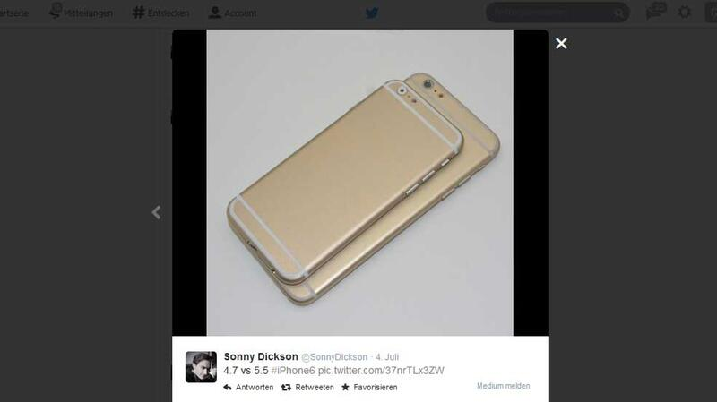 Rückseite des iPhone 6
