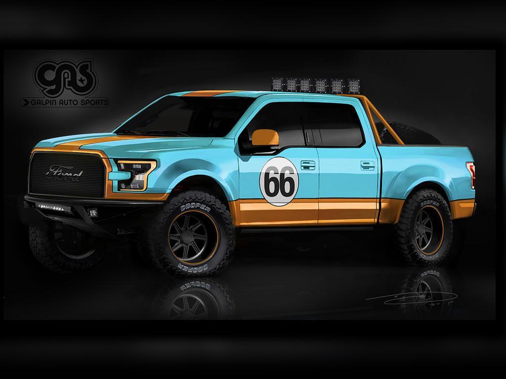 Bild zu Ford F-150 auf der SEMA