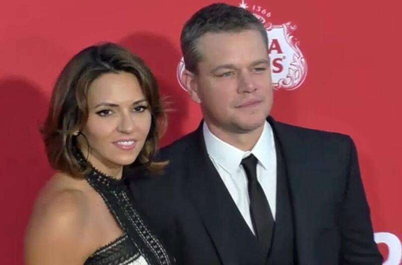Bild zu Matt Damon: Ehekrise nach 12 Jahren Liebesglück?