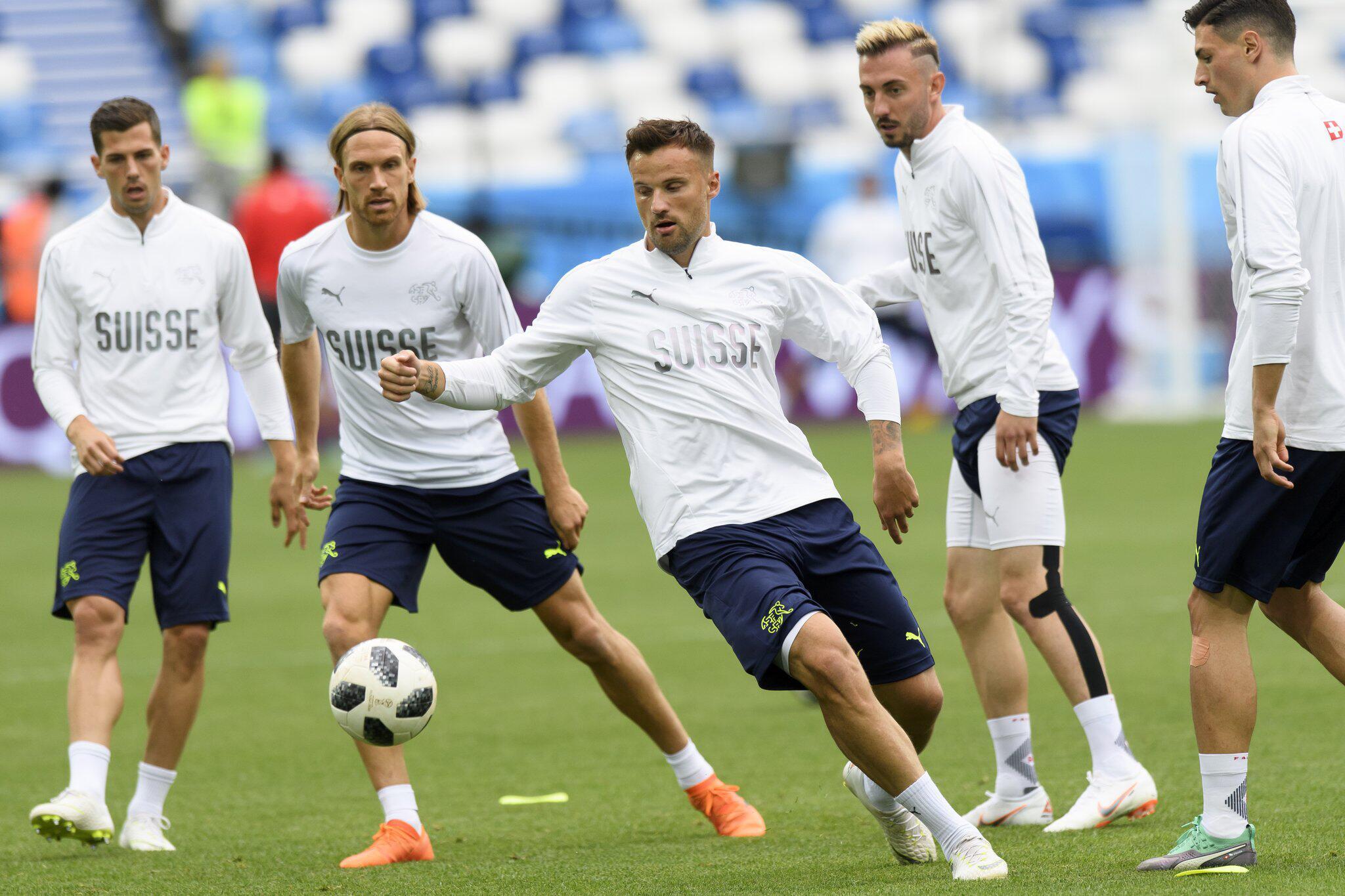 Bild zu WM 2018 - Training Schweiz