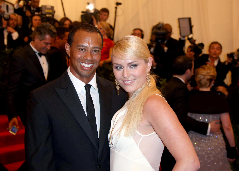 Bild zu Tiger Woods, Lindsey Vonn, Costume Institute Gala, Punk, Chaos to Couture, Metropolitan, Museum
