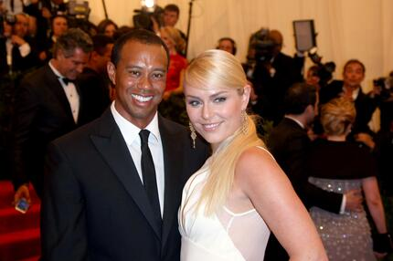 Tiger Woods, Lindsey Vonn, Costume Institute Gala, Punk, Chaos to Couture, Metropolitan, Museum