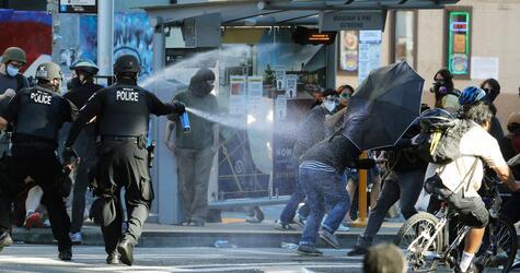 US-Polizei steht massiv in der Kritik