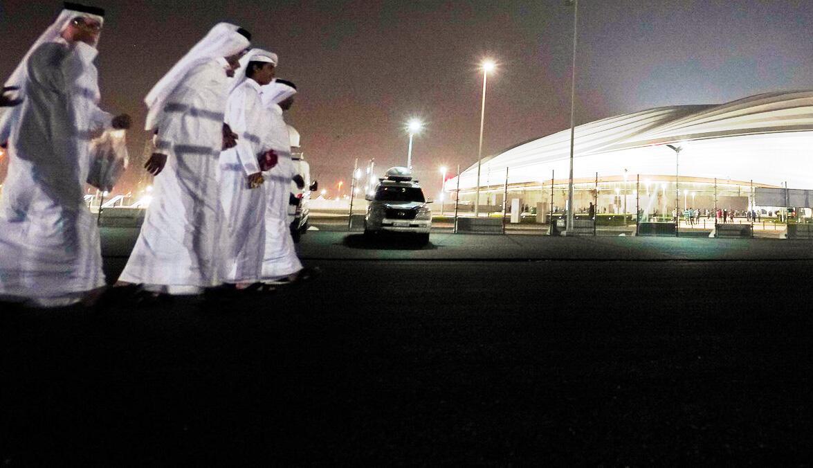 Bild zu Fussball-WM 2022 in Katar - Al-Dschanub Stadion