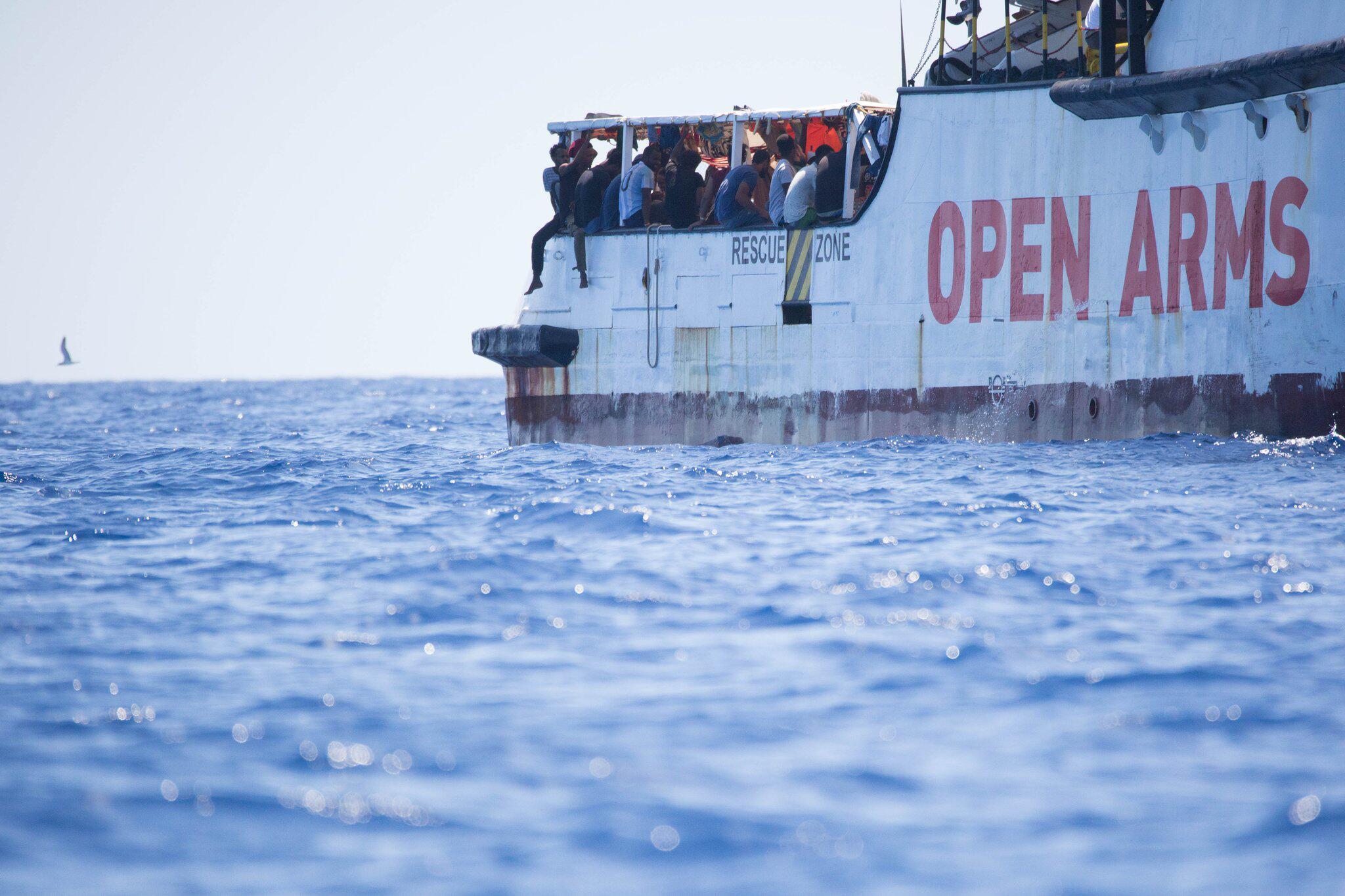 Bild zu Seenotrettung im Mittelmeer - Proactiva Open Arms