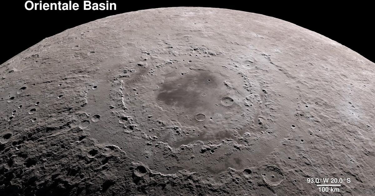 Mond In 4k  Nasa Zeigt Spektakul U00e4re Bilder