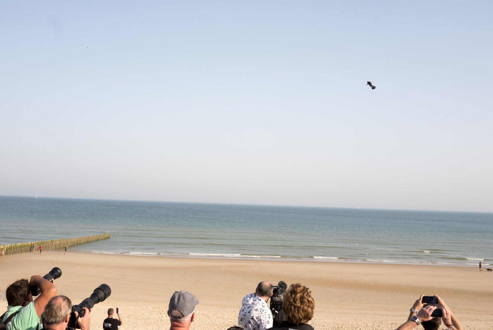 Bild zu Zapata will mit Flyboard Ärmelkanal überqueren
