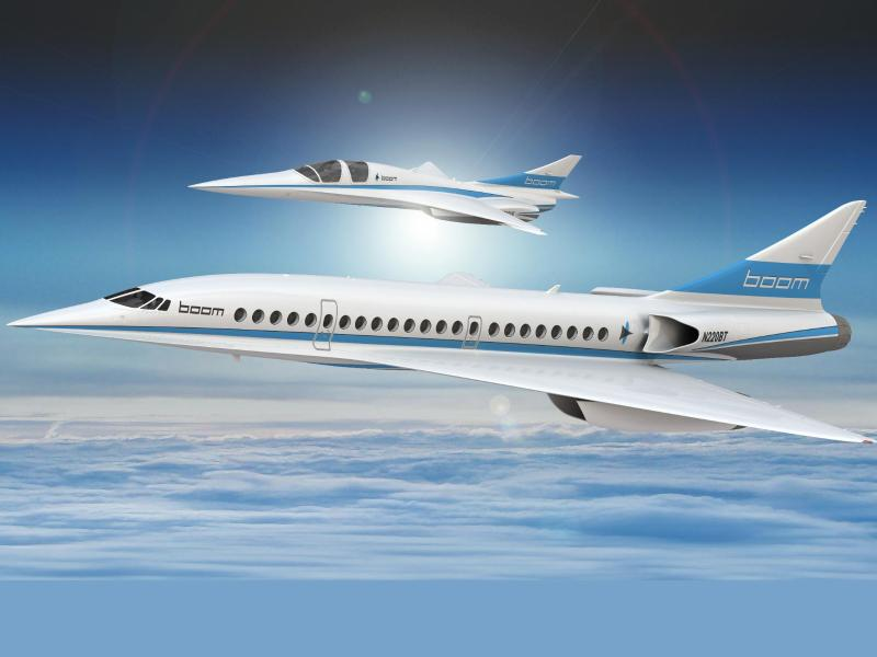 Bild zu Überschallflugzeug