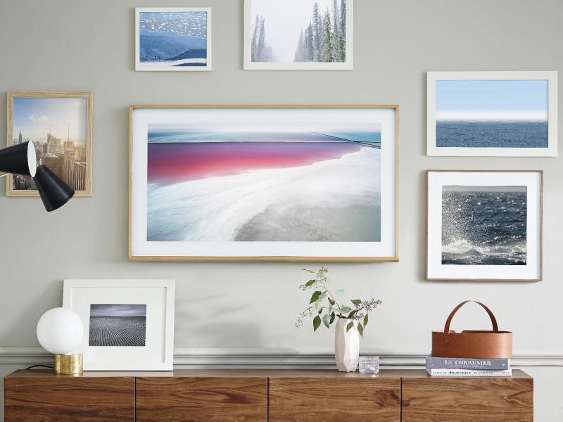 Bild zu TV-Gerät «The Frame»