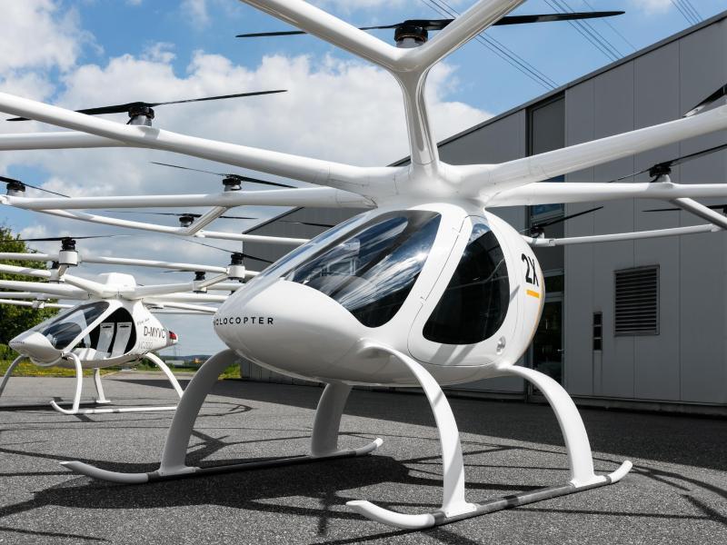 Bild zu Drohnentaxi