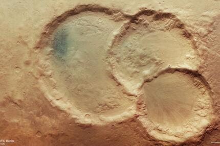 Drillingskrater Mars