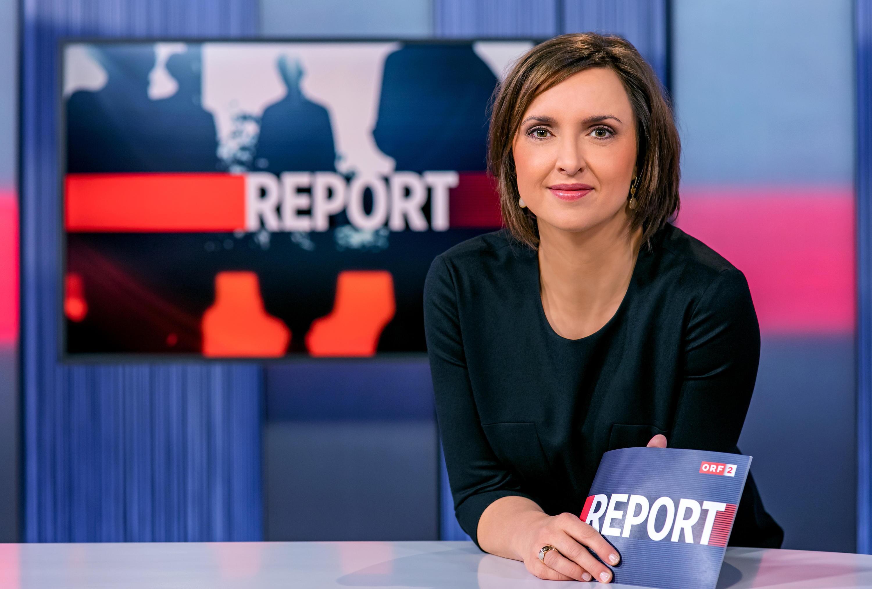 Bild zu ORF, Report, ORF-Politmagazin von Susanne Schnabl-Wunderlich
