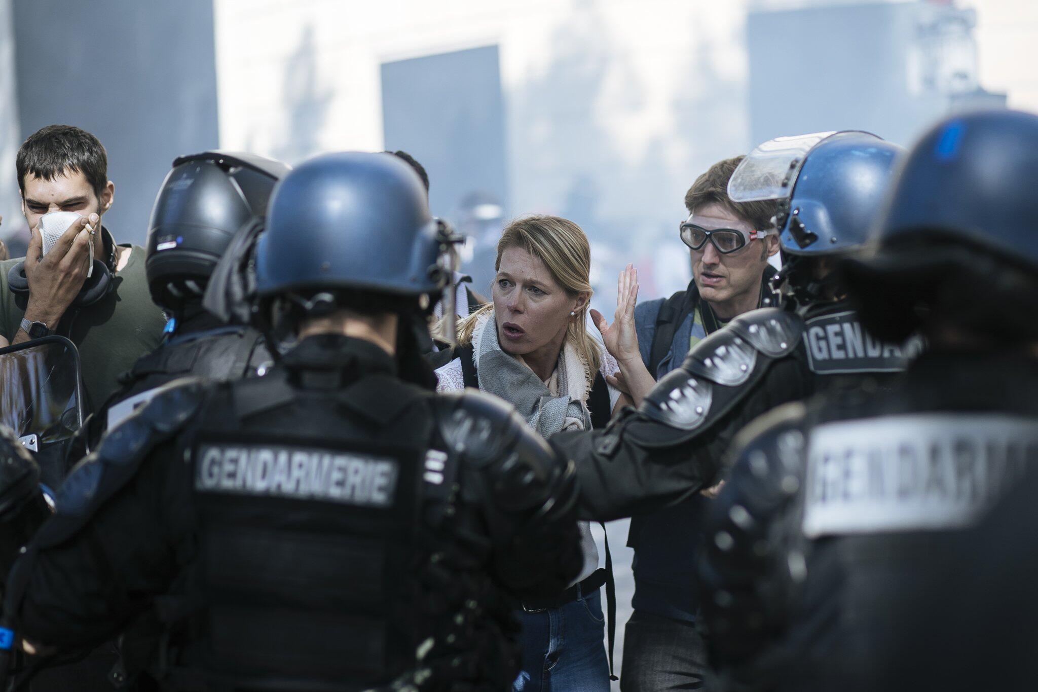 Bild zu «Gelbwesten»-Proteste in Paris
