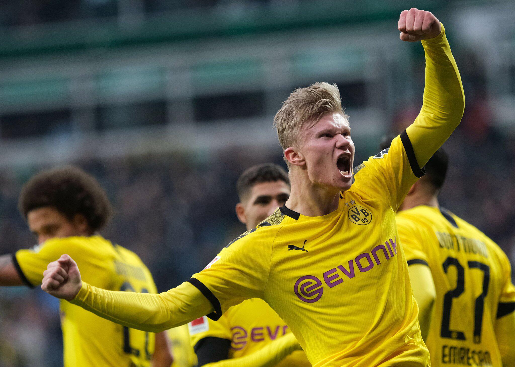 Bild zu Werder Bremen - Borussia Dortmund und Erling Haaland