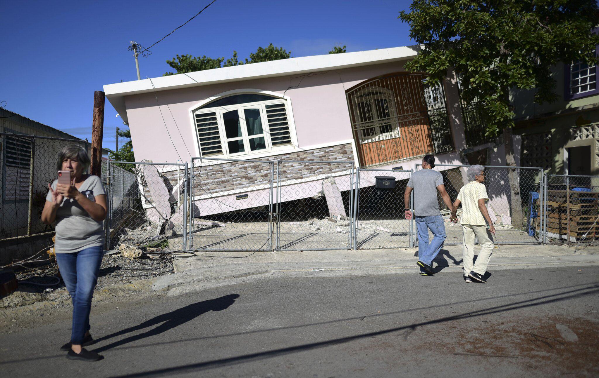 Bild zu Erdbeben in Puerto Rico