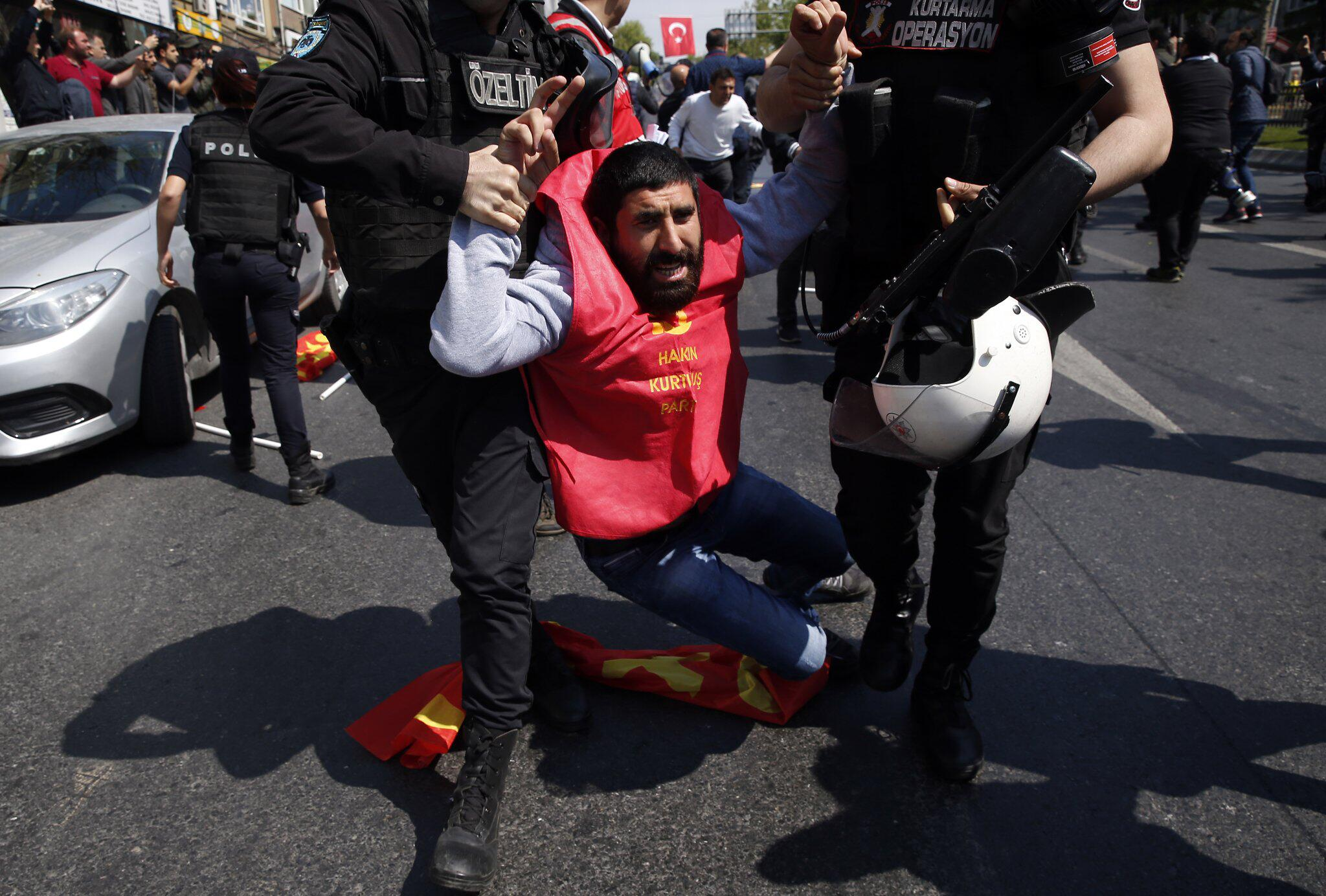 Bild zu 1. Mai - Türkei