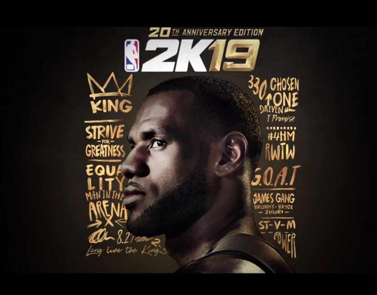 Bild zu Trailer zu NBA 2K19