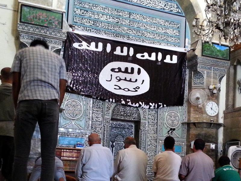 Bild zu IS-Flagge