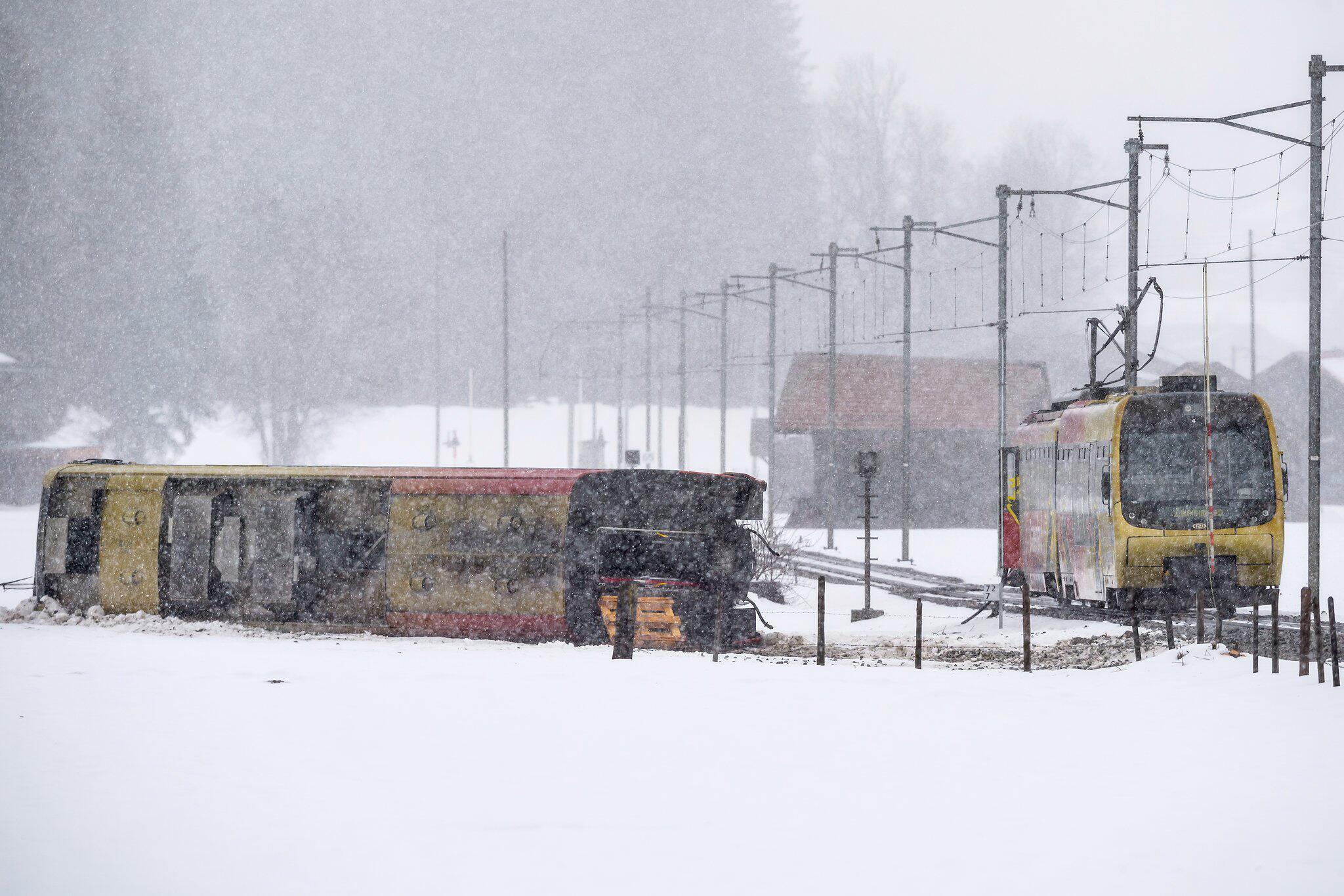 Bild zu Bahnunglück in der Schweiz