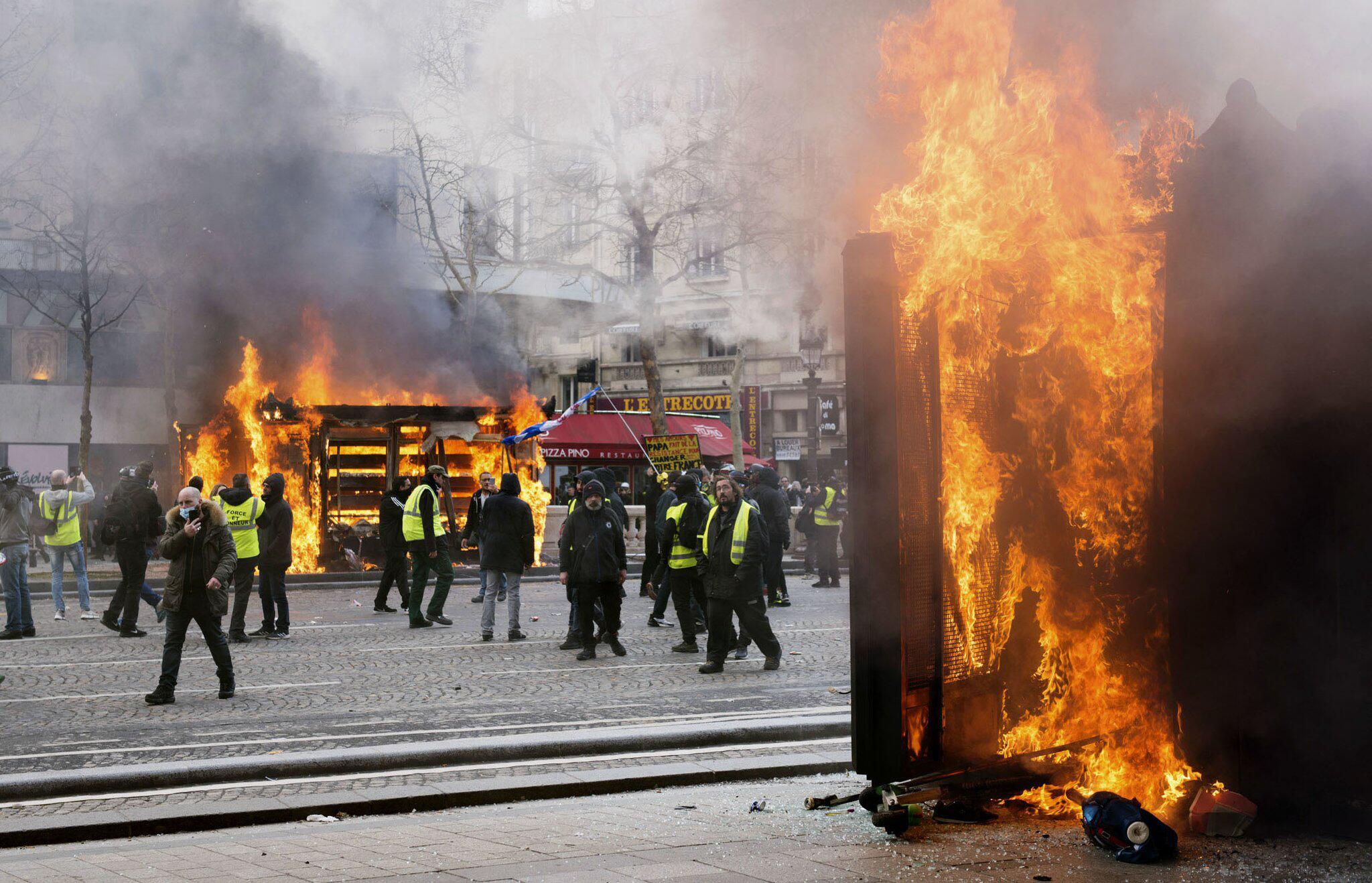"""Bild zu """"Gelbwesten»-Proteste in Frankreich"""