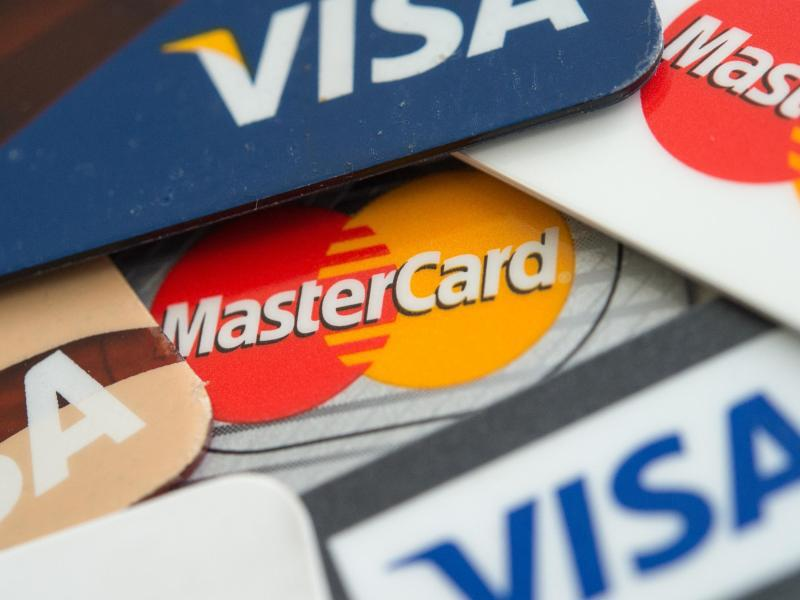 Bild zu Kreditkarten