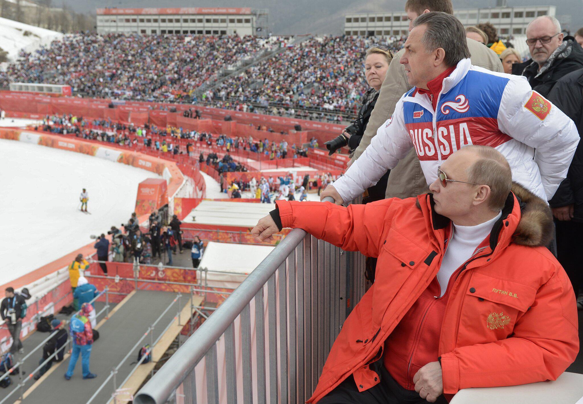Bild zu Putin und Mutko