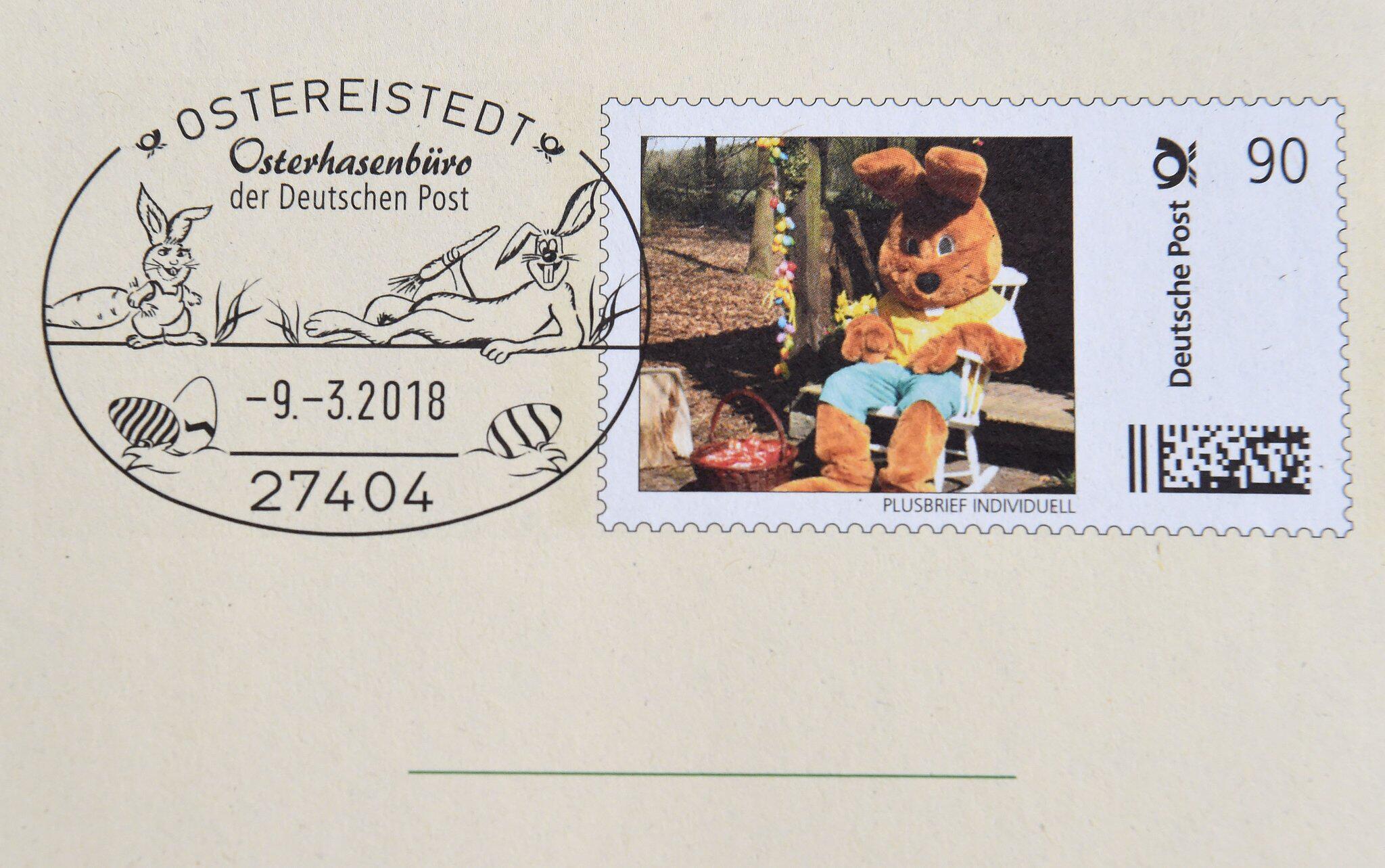 Bild zu Endspurt im Postamt von Hanni Hase