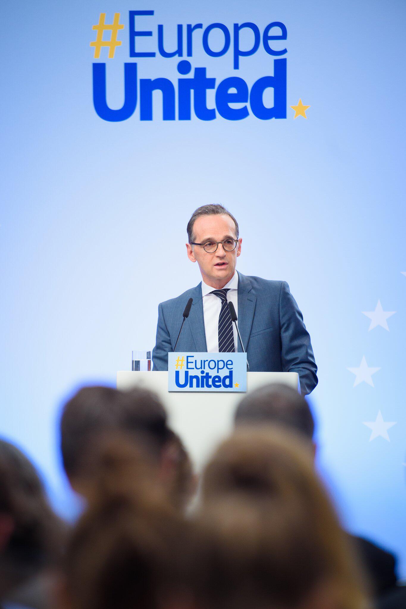 Bild zu Europarede von Aussenminister Heiko Maas