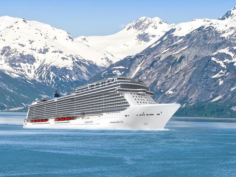 Bild zu Kreuzfahrtschiff «Norwegian Bliss»