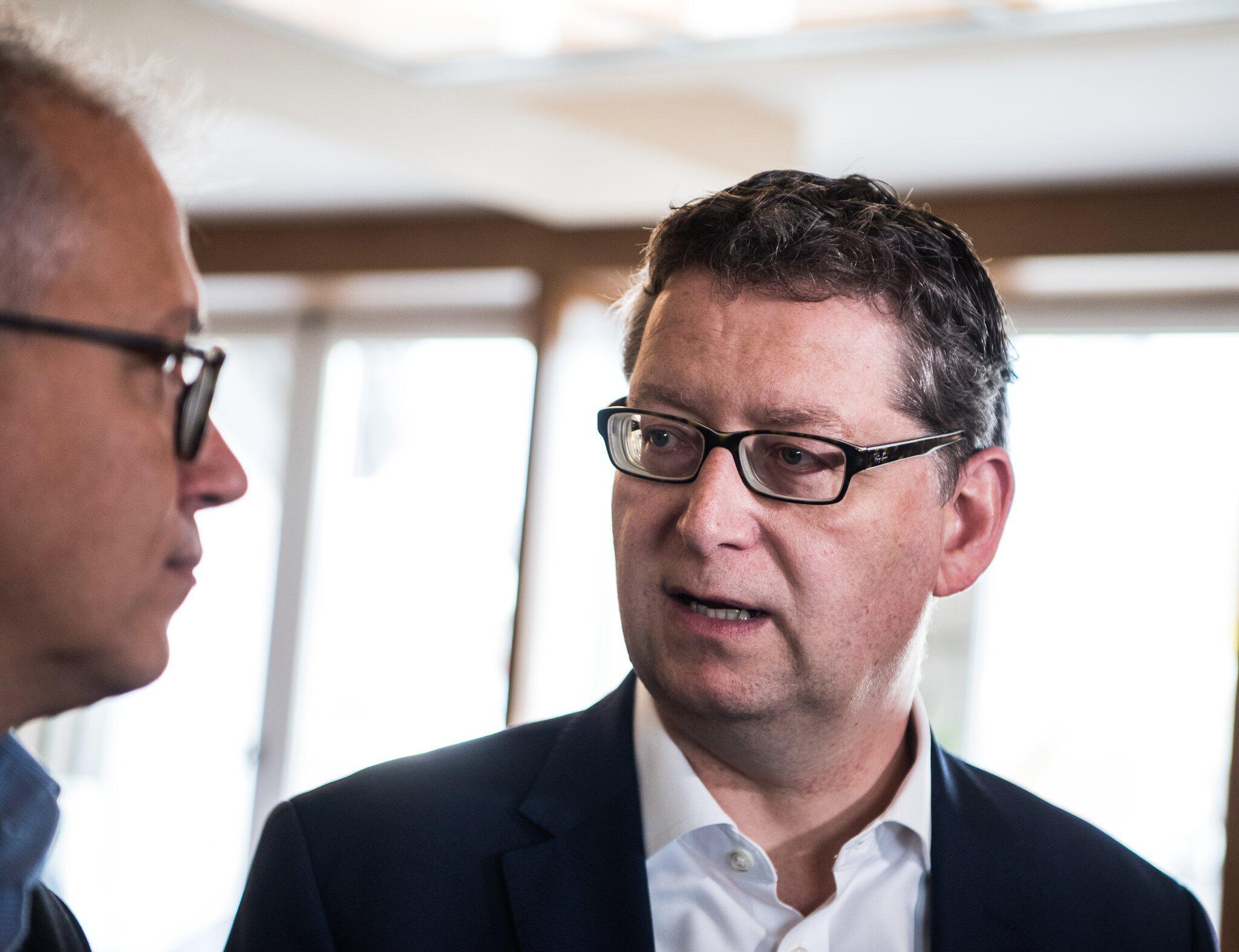 Bild zu Grüne und SPD führen Sondierungsgespräche