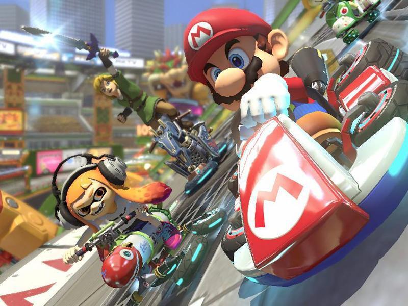 Bild zu «Mario Kart 8 Deluxe»