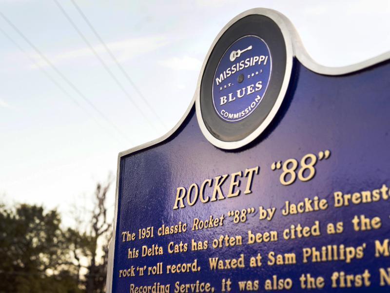 Bild zu Hinweistafel des Mississippi Blues Trail