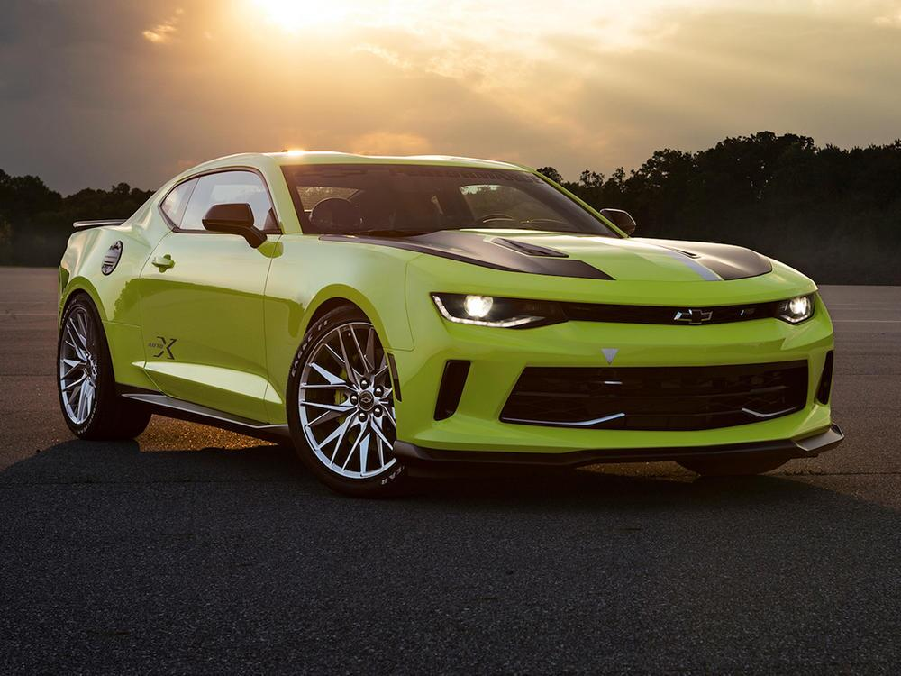 Bild zu Chevrolet auf der SEMA 2016: Vom Dragster bis zum Hotrod Concept