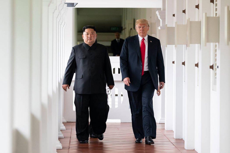 Bild zu US-Aussenminister besucht Nordkorea