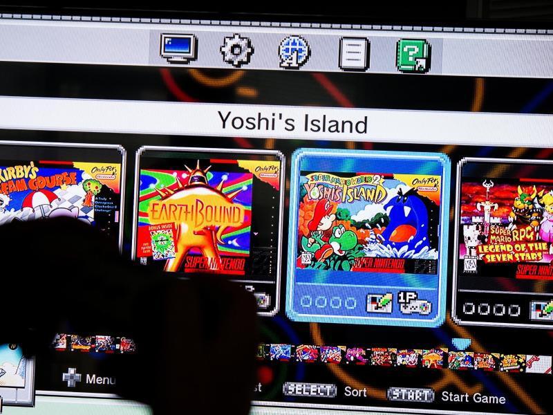 Bild zu Nintendo-Spiele auf modernen Fernsehern