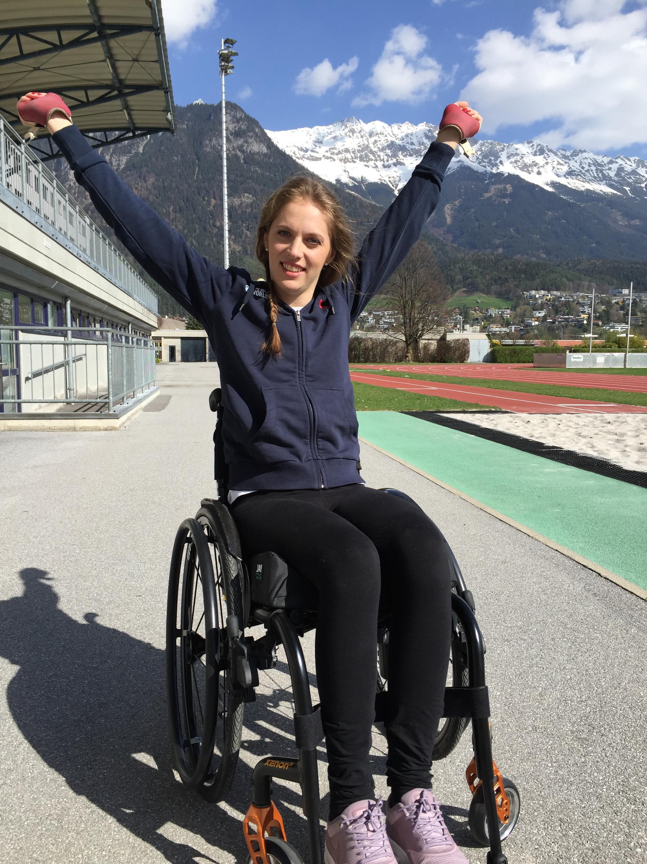 Bild zu Kira Grünberg, ein Jahr nach ihrem Unfall