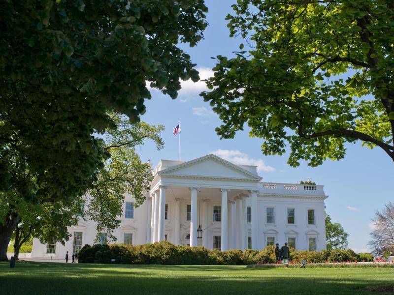 Bild zu Das weisse Haus in Washington