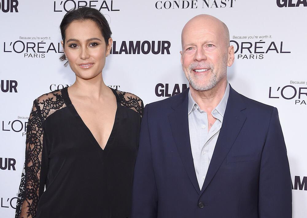 Bild zu Bruce Willis und Emma Heming bei einer Veranstaltung in New York