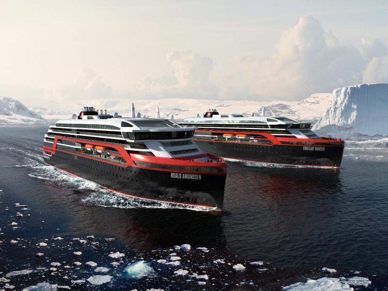 Bild zu Zwei Schiffe im Bau
