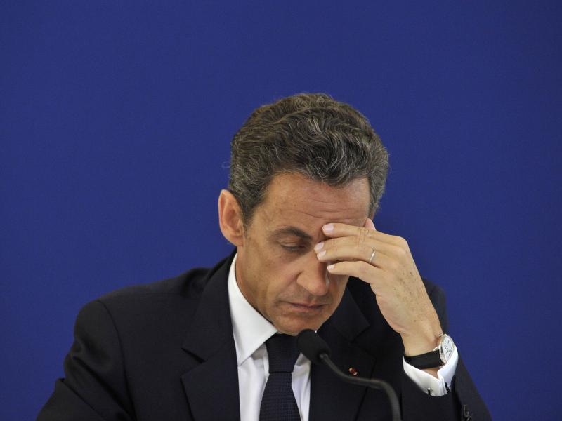Bild zu Sarkozy