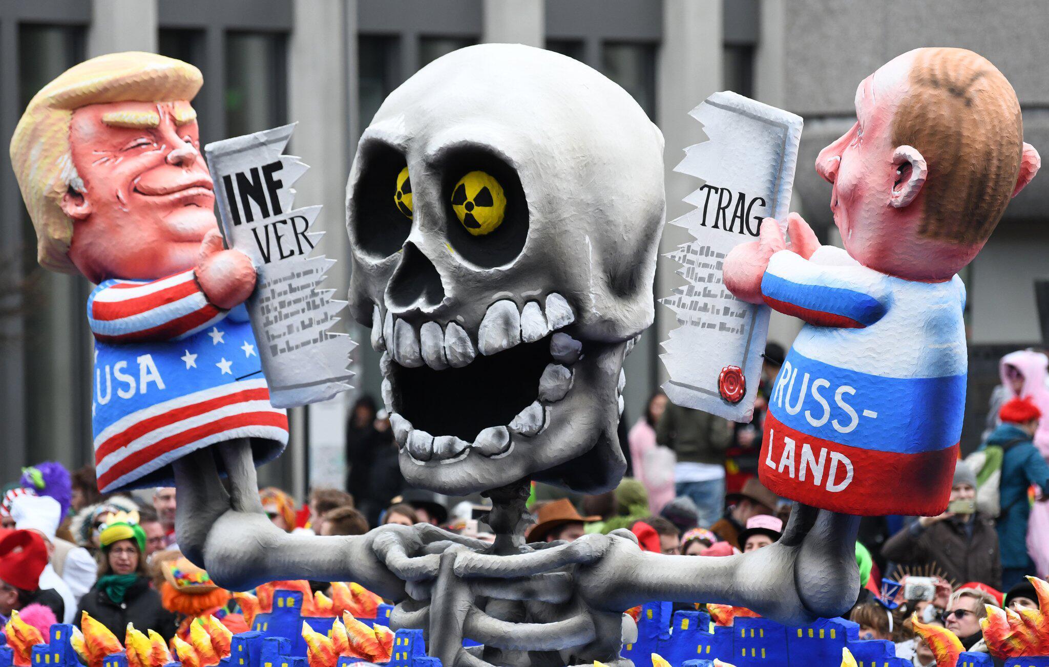Bild zu Moskau: USA haben INF-Vertrag für beendet erklärt
