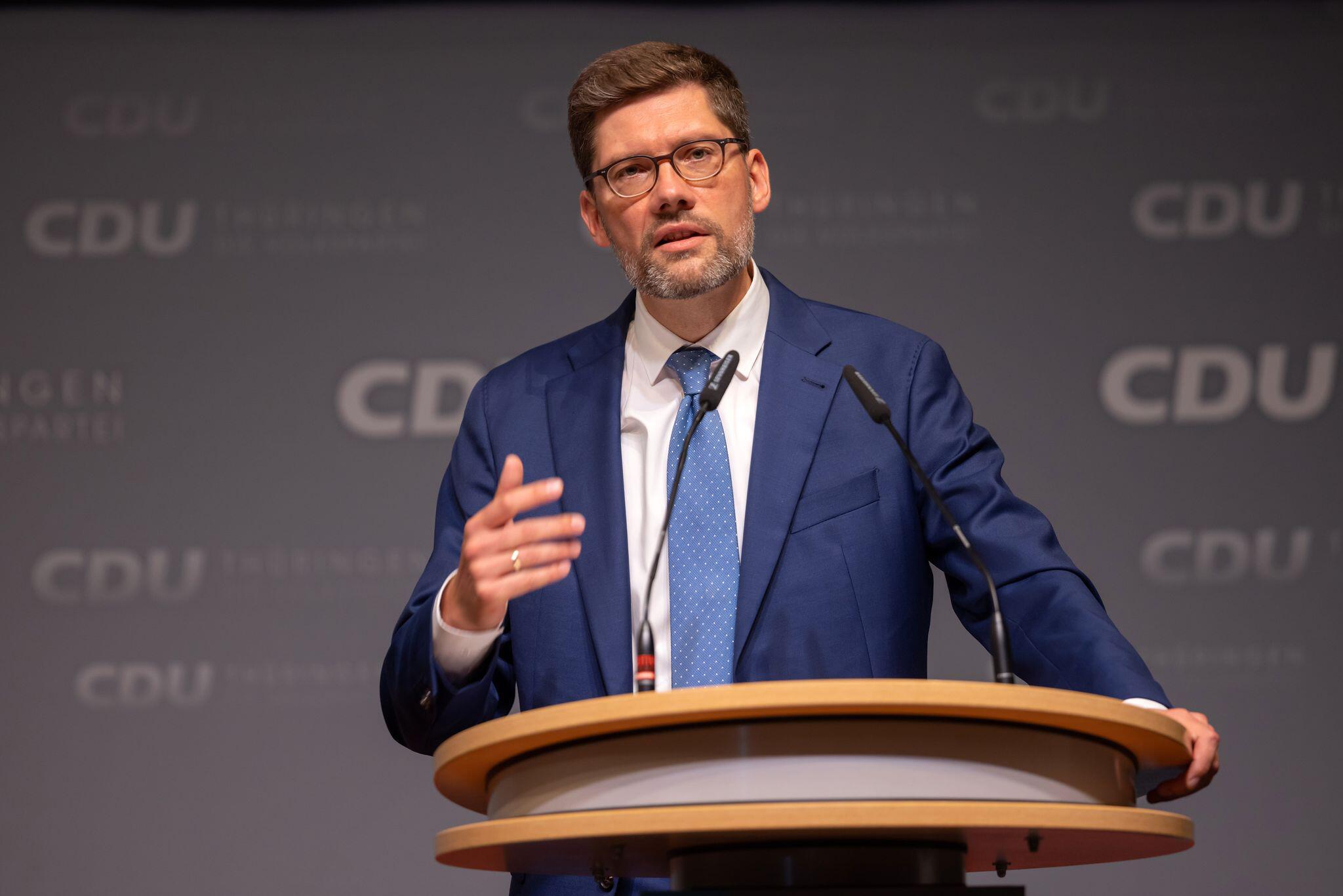 Bild zu Landesparteitag CDU Thüringen